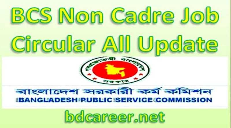 BCS Non Cadre Job Circular