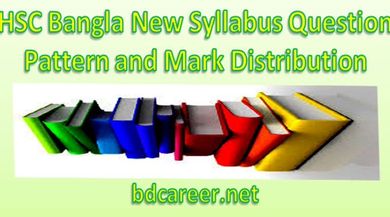 HSC Bangla Syllabus 2020-2021