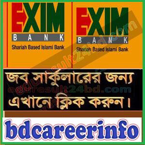 Exim Bank Limited Job Result 2018