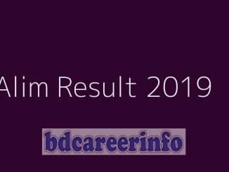 Alim Result 2019 Madrasah Board
