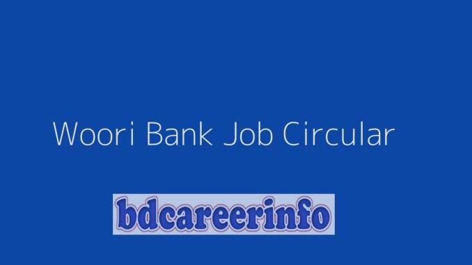 Woori Bank Job Circular 2019