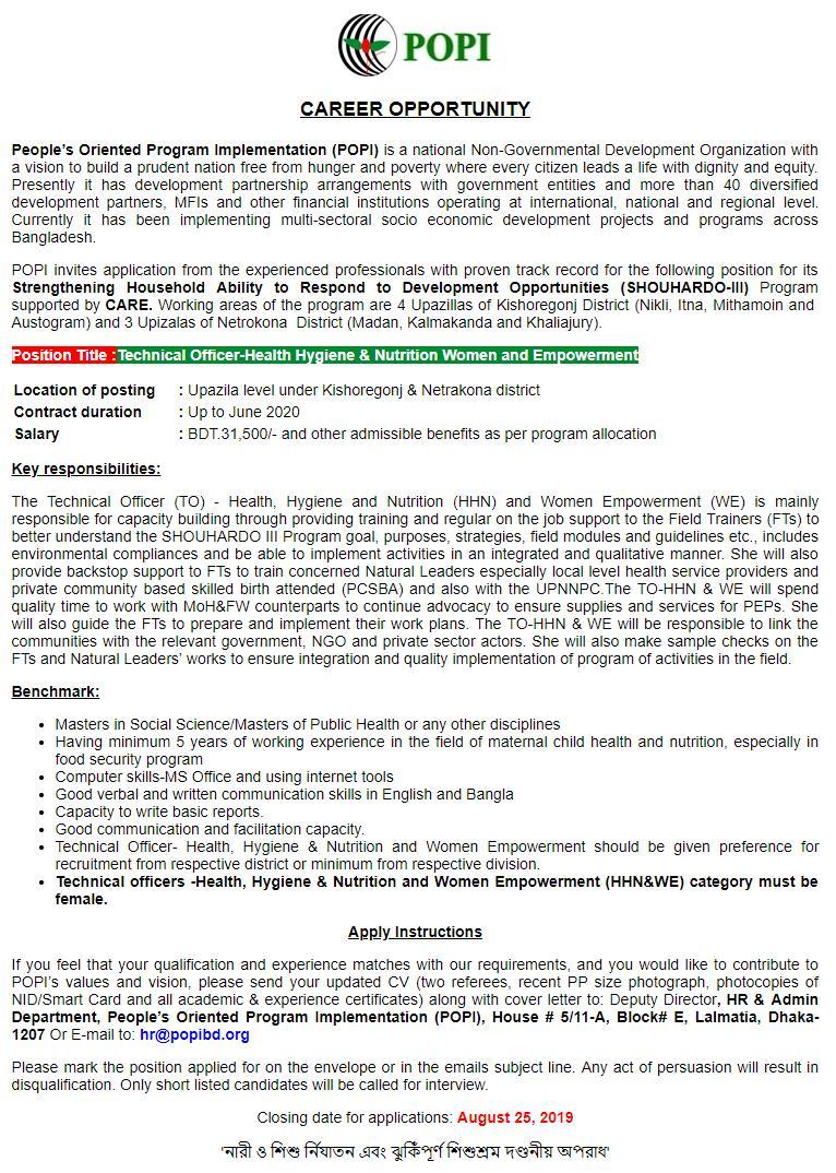People's Oriented Program Implementation (POPI) (1)