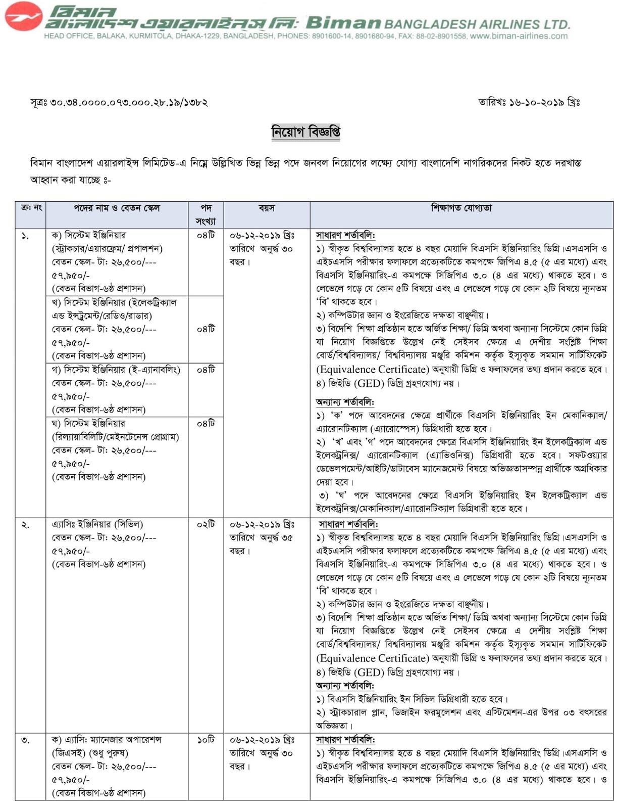 BBAL Job Circular Apply 2019