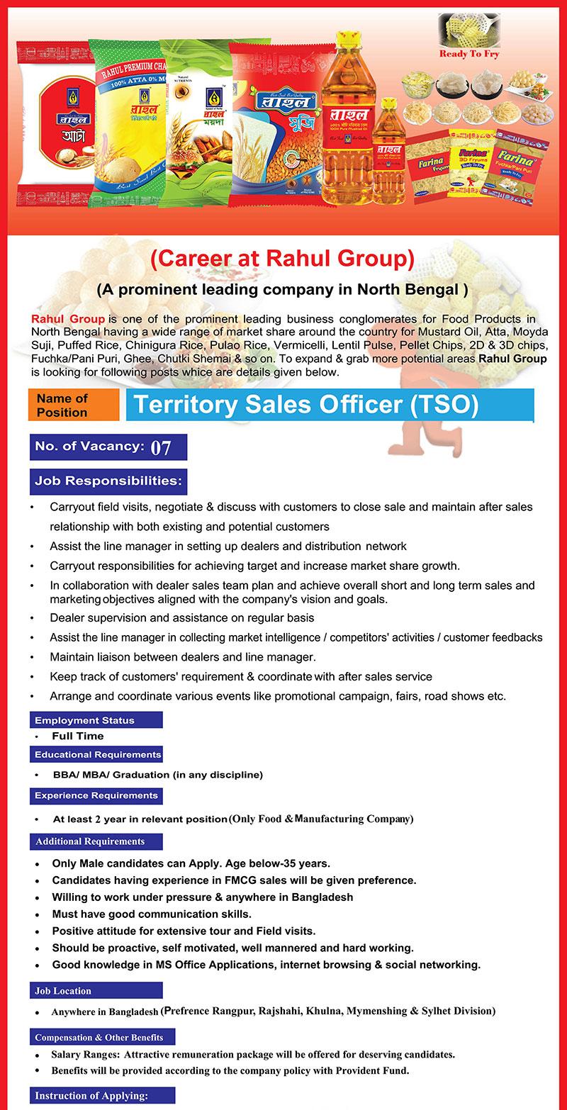 Rahul Group job bd