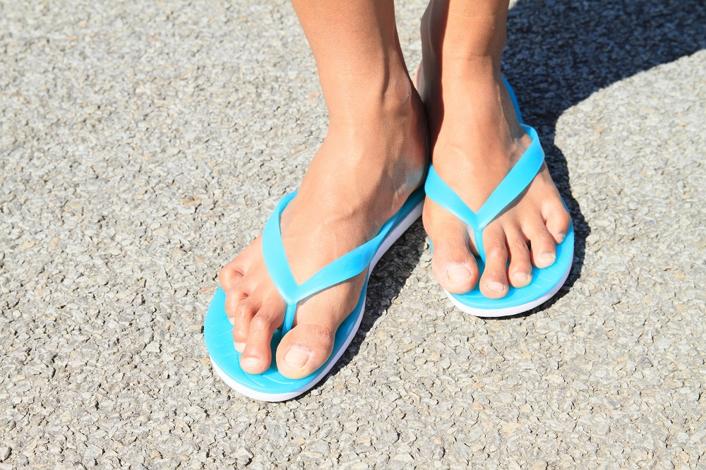 Should Dancers Wear Flip Flops?