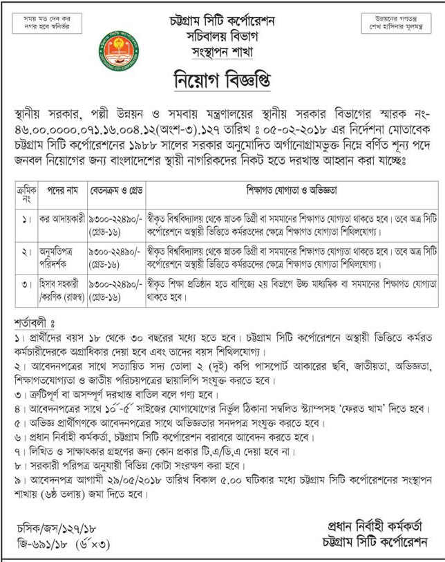 Local Government Division Job
