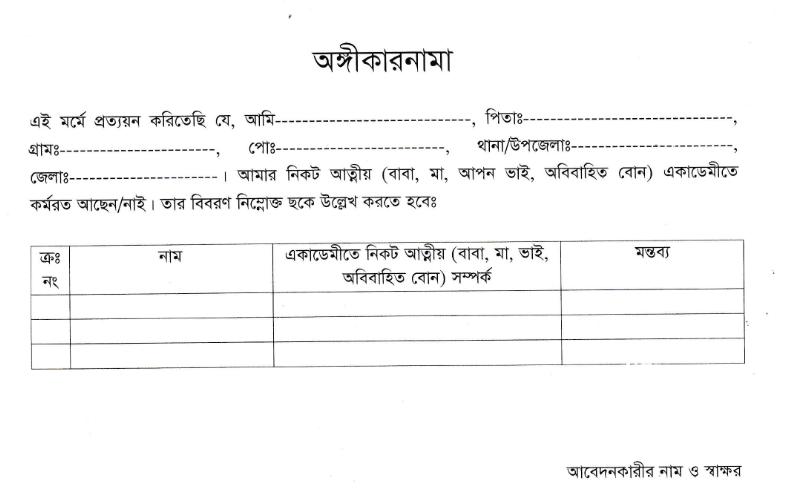 Bangladesh Marine Academy macademy Job circular – www.macademy.gov.bd 3