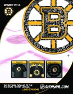 Shop.NHL.Com catalog cover design - Boston Bruins Version (10 team versions total)