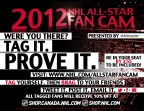 These flyers were designed to hand out to all fans attending the 2012 NHL All-Star Game in Ottawa
