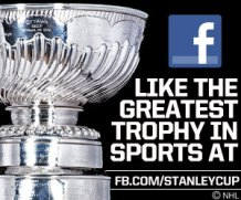 300x250 banner for NHL.com and all club/affiliate sites promoting the StanleyCup Facebook account