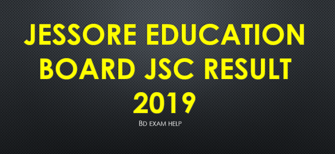Jessore Education Board JSC Result 2019