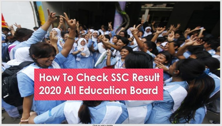 How To Check SSC Result 2020 All Education Board