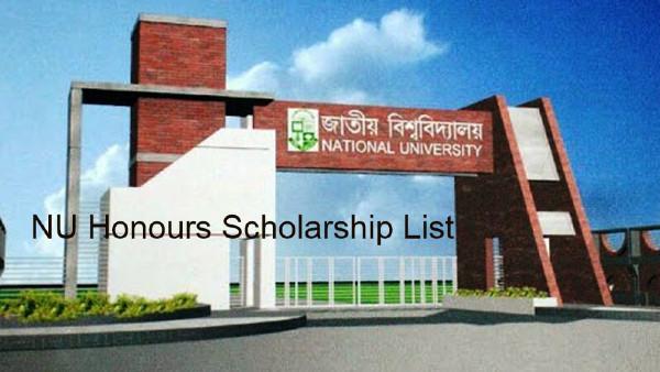NU Honours Scholarship Result 2020