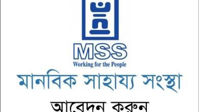 MSS NGO Job Circular