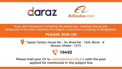 Daraz Customer Care Number