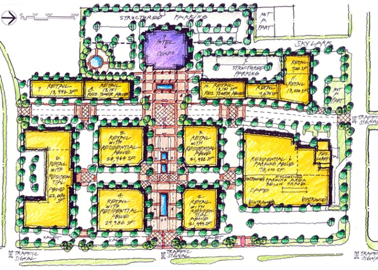 Boulevard Place Site Plan