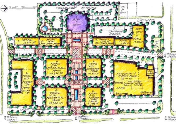 Boulevard Place Site Plan