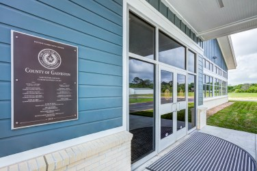 Entrance to Community Center