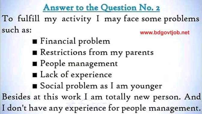 English assignment Class 7 8th week answer
