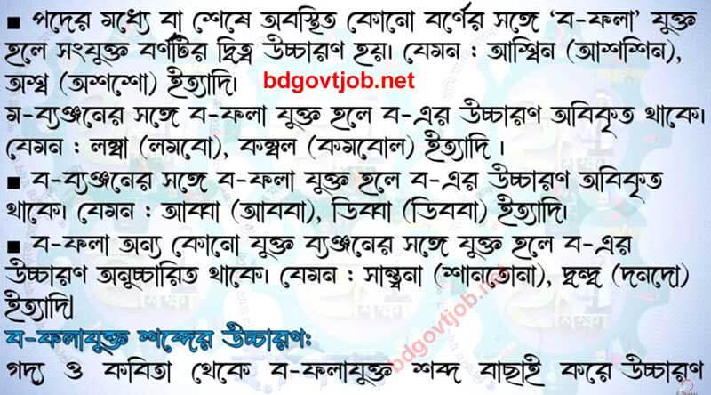 Class 11 Assignment Bangla answer