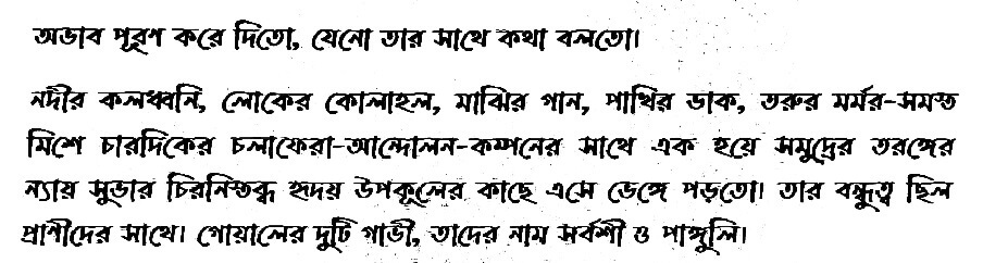 SSC Bangla Assignment Answer 2021 1st Week