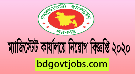 Chief Judicial Magistrate Job Circular 2020 (1)