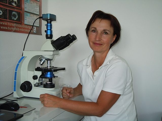 Silvia Rauschenbach HP  Praxis für Dunkelfeldblutuntersuchung, chronische Erkrankungen und Burnout
