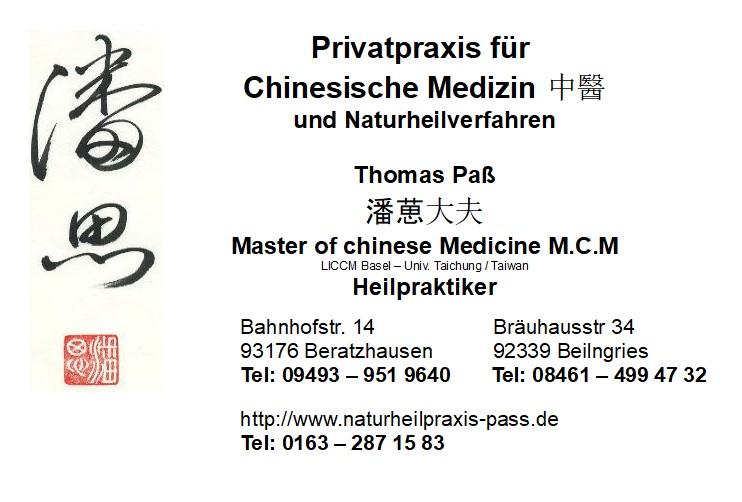 Praxis für chinesische Medizin und Naturheilkunde
