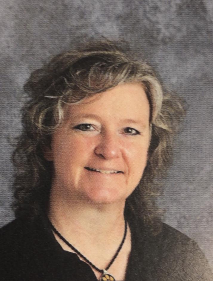 Our current principal, Mrs. Meints.