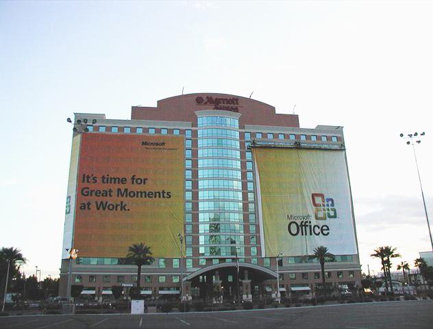 Microsoft Building Wrap
