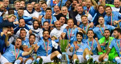 'Magical' Lazio down Juventus in Super Cup win