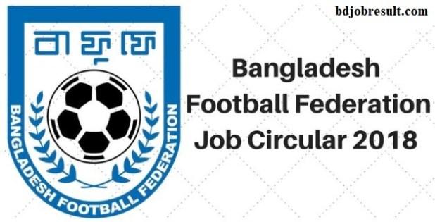 Bangladesh Football Federation Job Circular