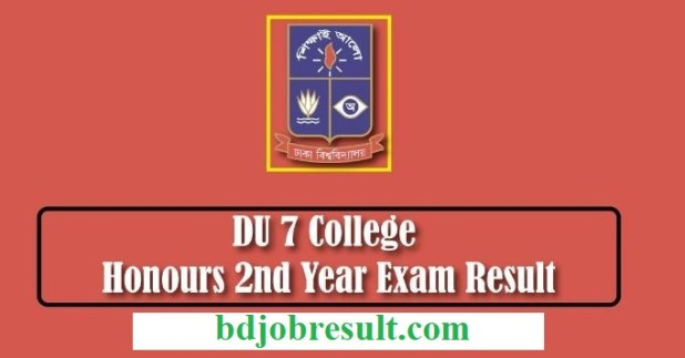 DU 7 College Honours 2nd Year Result