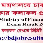 MOF Job Exam Result