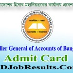 CGA Admit Card 2020
