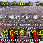BBS Admit Card 2021