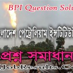 BPI Question Solution 2021