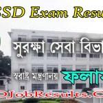 SSD Exam Result 2021