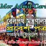MOR Admit Card 2021
