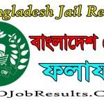 Bangladesh Jail Result 2021
