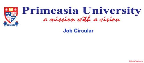 Primeasia University Job Circular
