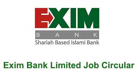 Exim Bank Limited Job Circular