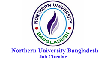 Northern University Bangladesh Job Circular