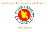 (MOEF) Ministry of Environment and Forests Job Circular