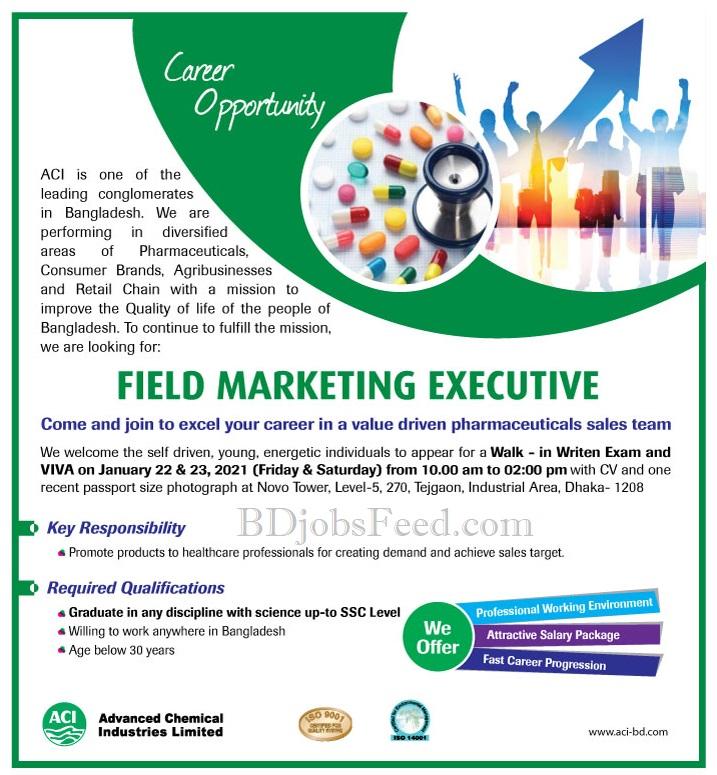 ACI Job Circular Official Circular January 2021