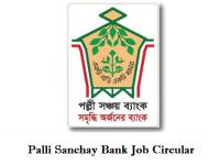 Palli Sanchay Bank Job Circulars