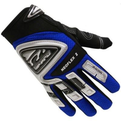 Bike It GP-Pro Neoflex-2 Motocross Gloves Blue