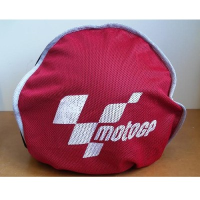 MotoGP Aero Motorcycle Helmet Bag Black & Red