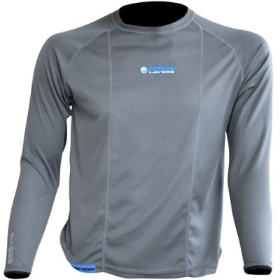 Oxford Cool Dry Men's Long Sleeve Motorcycle Thermal Top Base Layer New