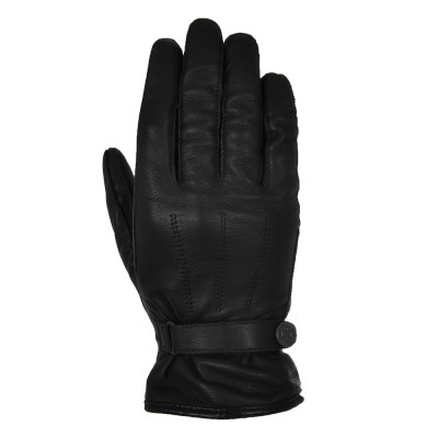 Oxford Holton Motorcycle Leather Gloves Black